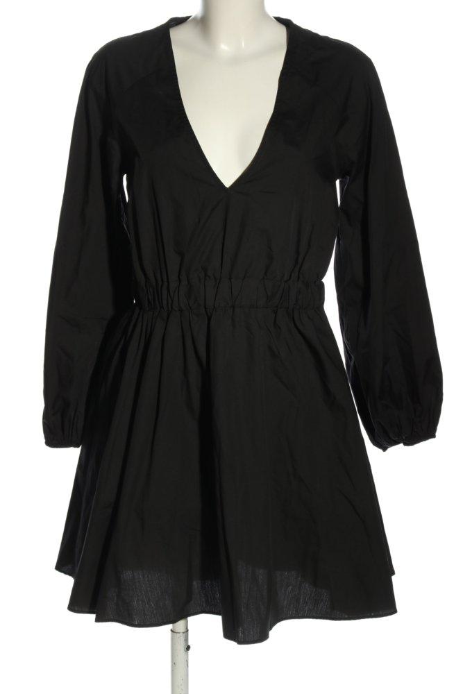 ASOS Blusenkleid schwarz Casual-Look Damen Gr. DE 36 Kleid ...