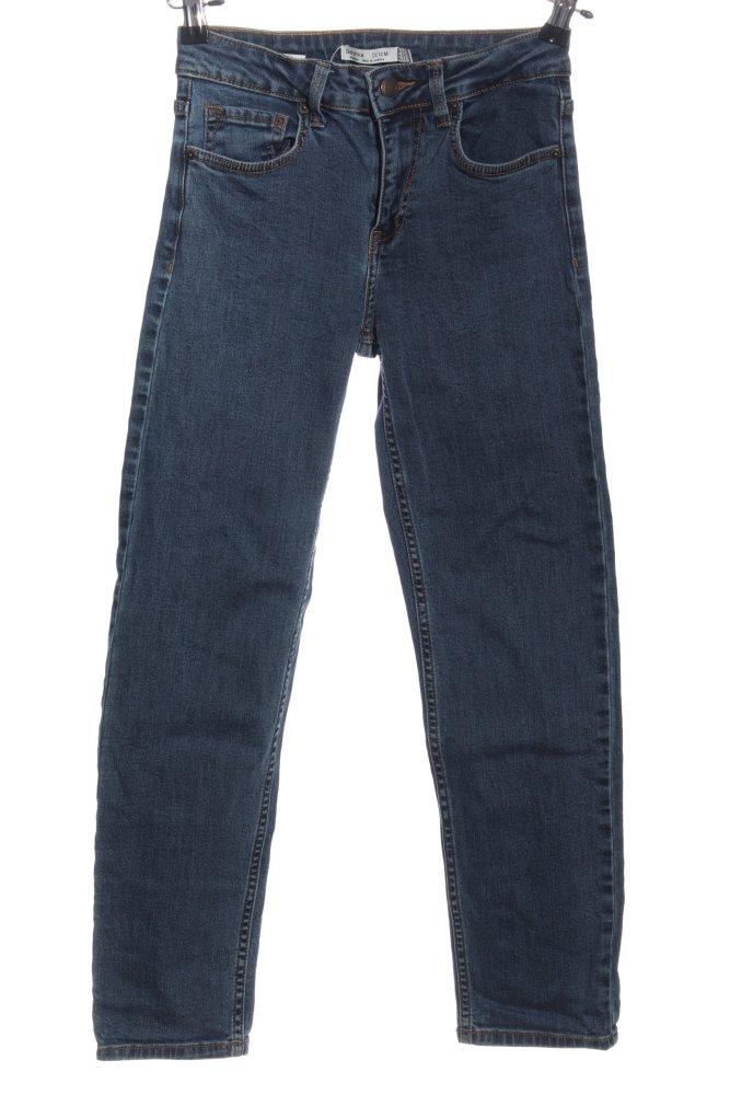 32  XS  Straight Leg  Blau  Used Look VAN LAACK  Damen Jeans  Sommerhose  Gr