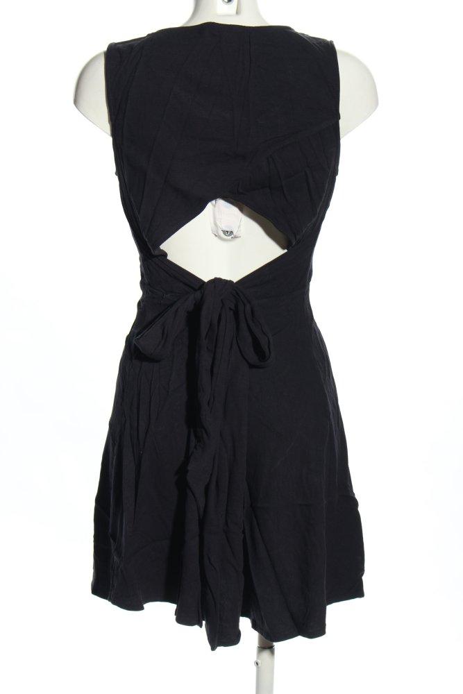 H&M Etuikleid schwarz Casual-Look Damen Gr. DE 44 Kleid ...
