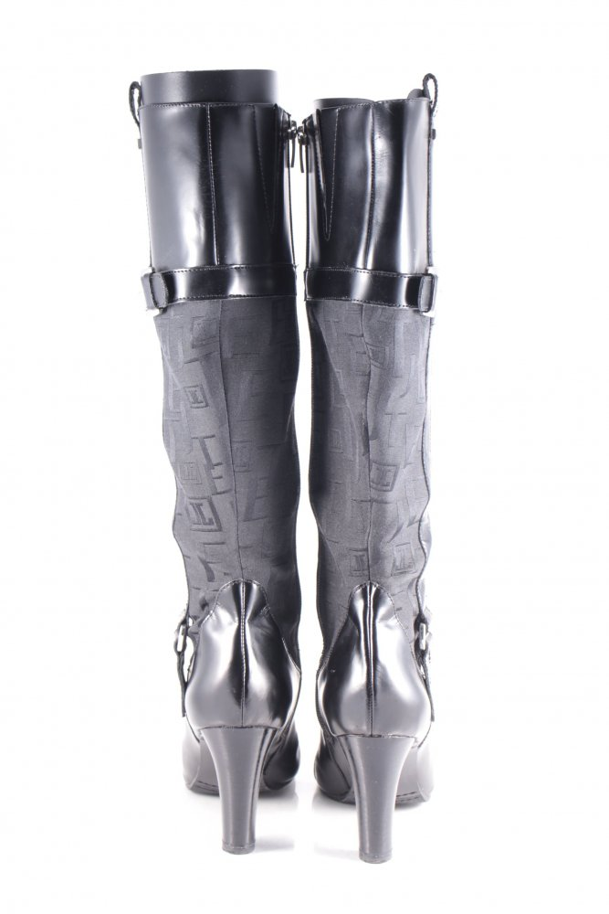 JETTE JOOP Absatz Stiefel schwarz klassischer Stil Damen Gr 6etAh