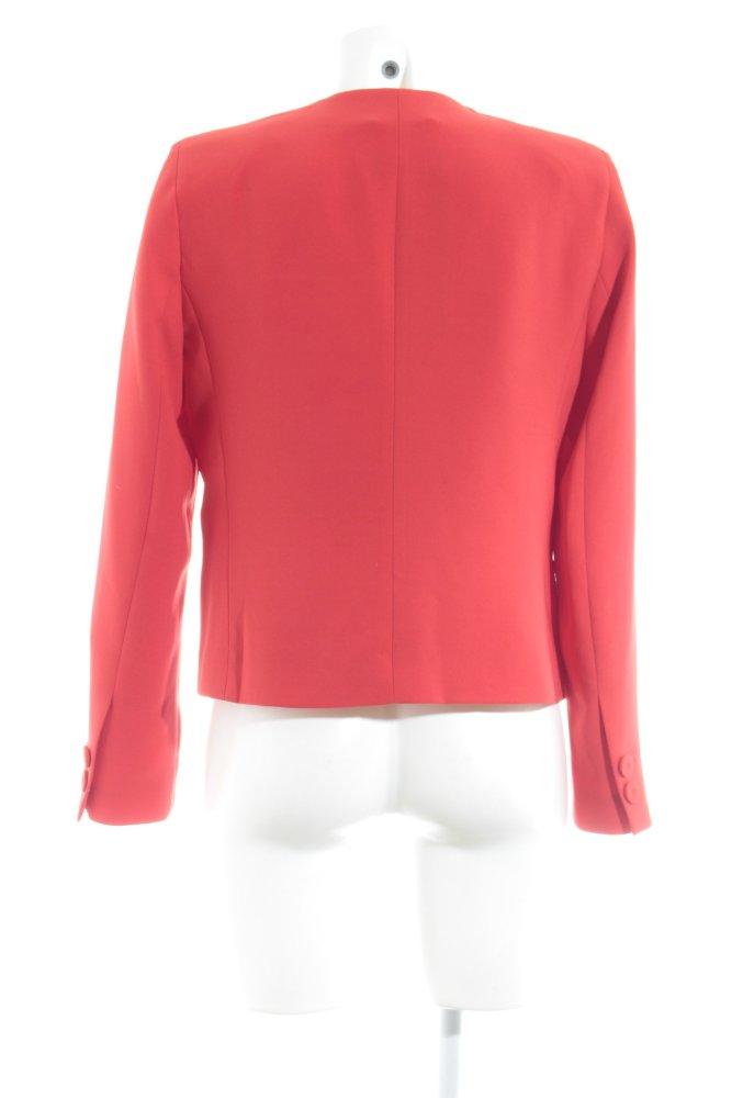MANGO BASICS Kurz-Blazer rot Elegant Damen Gr. DE 38 Short ...