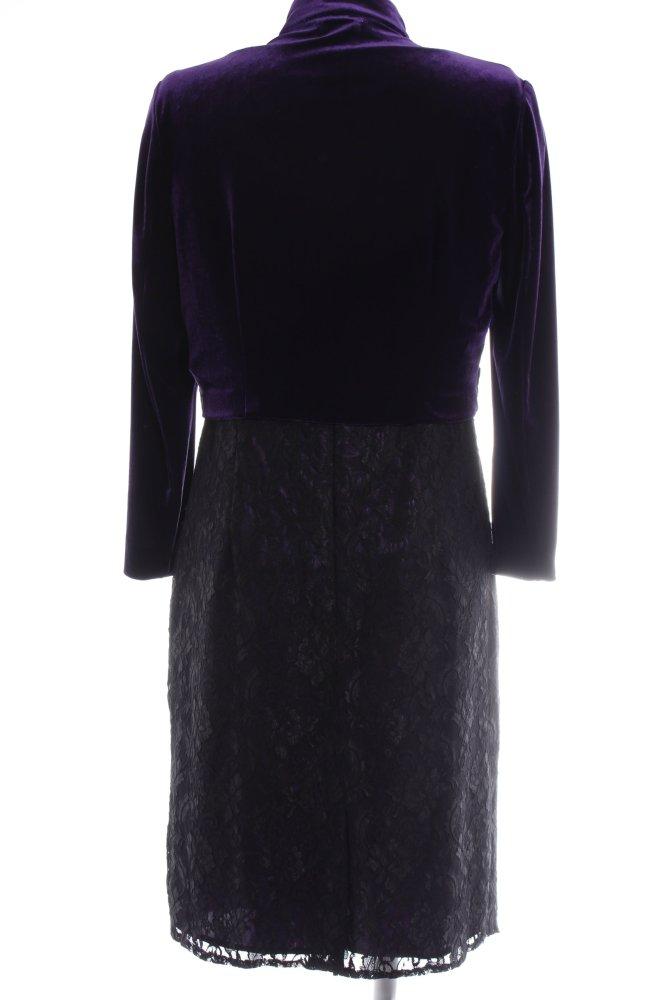 SARAH KERN Abendkleid schwarz-dunkelviolett Elegant Damen ...