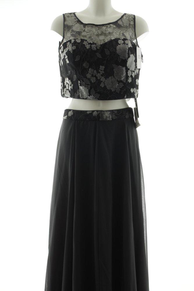 VERA MONT Abendkleid dunkelgrau-schwarz Elegant Damen Gr ...