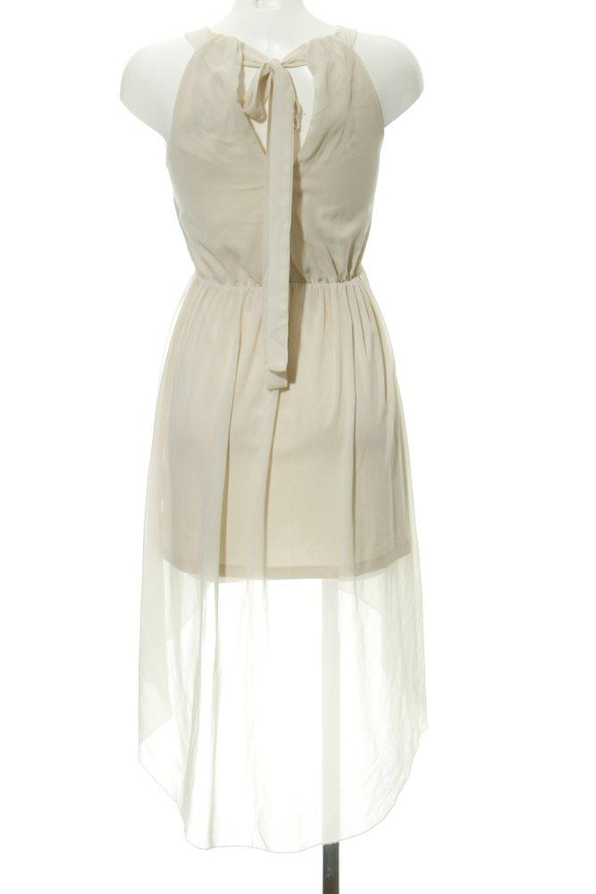 VERO MODA Vokuhila-Kleid creme Elegant Damen Gr. DE 34 ...