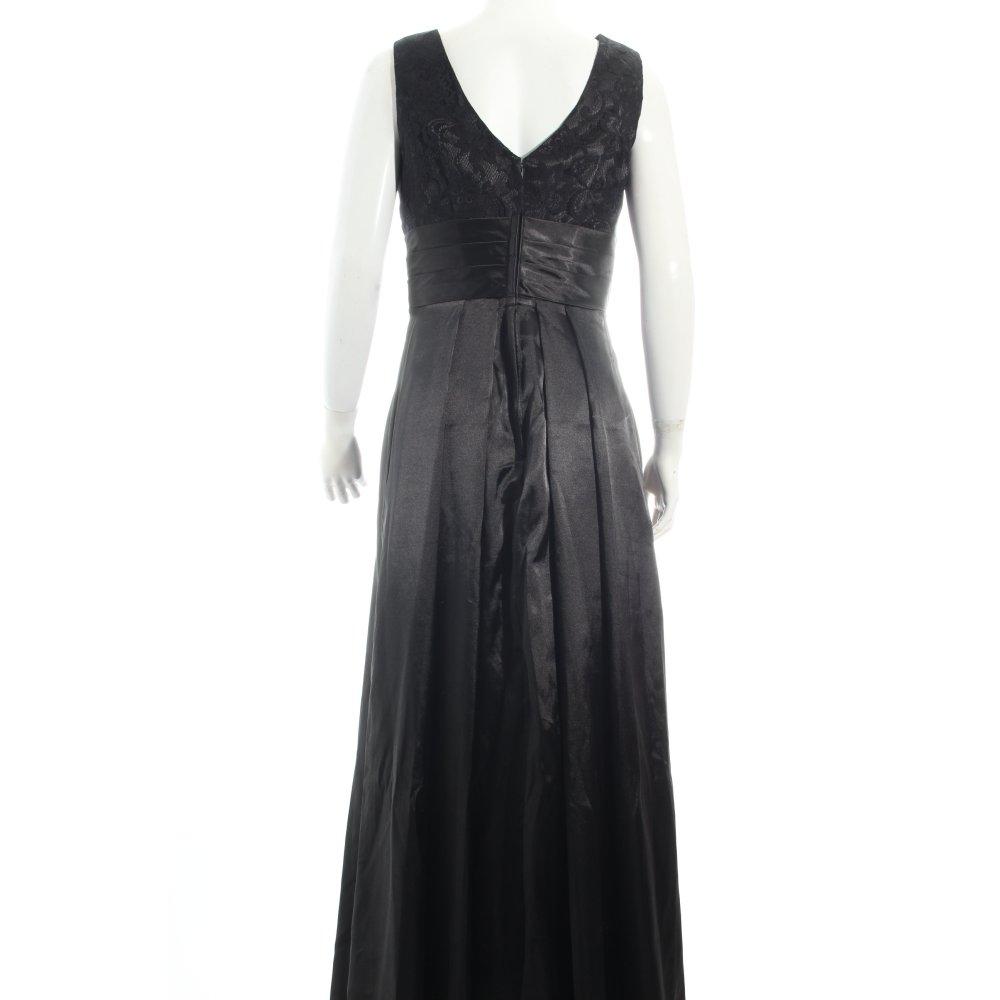 abendkleid schwarz eleganz look damen gr de 38 kleid. Black Bedroom Furniture Sets. Home Design Ideas