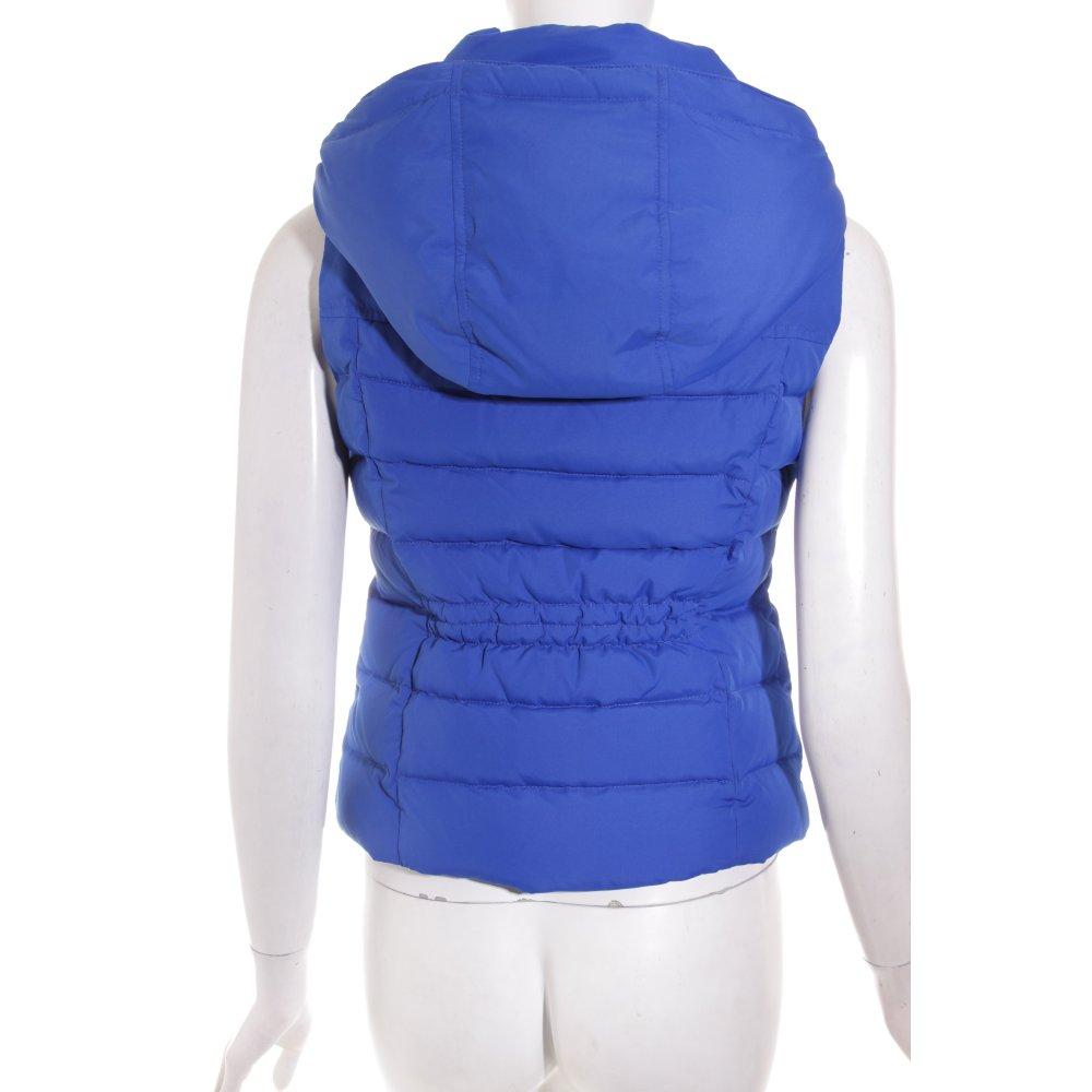 abercrombie fitch daunenweste blau sportlicher stil damen gr de 38 weste vest ebay. Black Bedroom Furniture Sets. Home Design Ideas