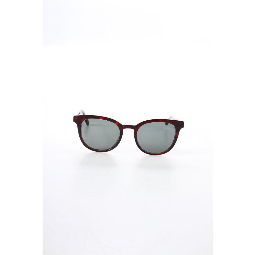 ace tate ovale sonnenbrille dunkelbraun beach look damen sunglasses ebay. Black Bedroom Furniture Sets. Home Design Ideas