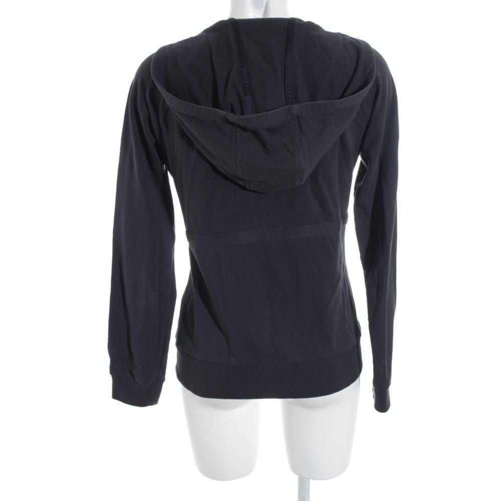 adidas kapuzenpullover dunkelgrau sportlicher stil damen gr de 38 pullover ebay. Black Bedroom Furniture Sets. Home Design Ideas