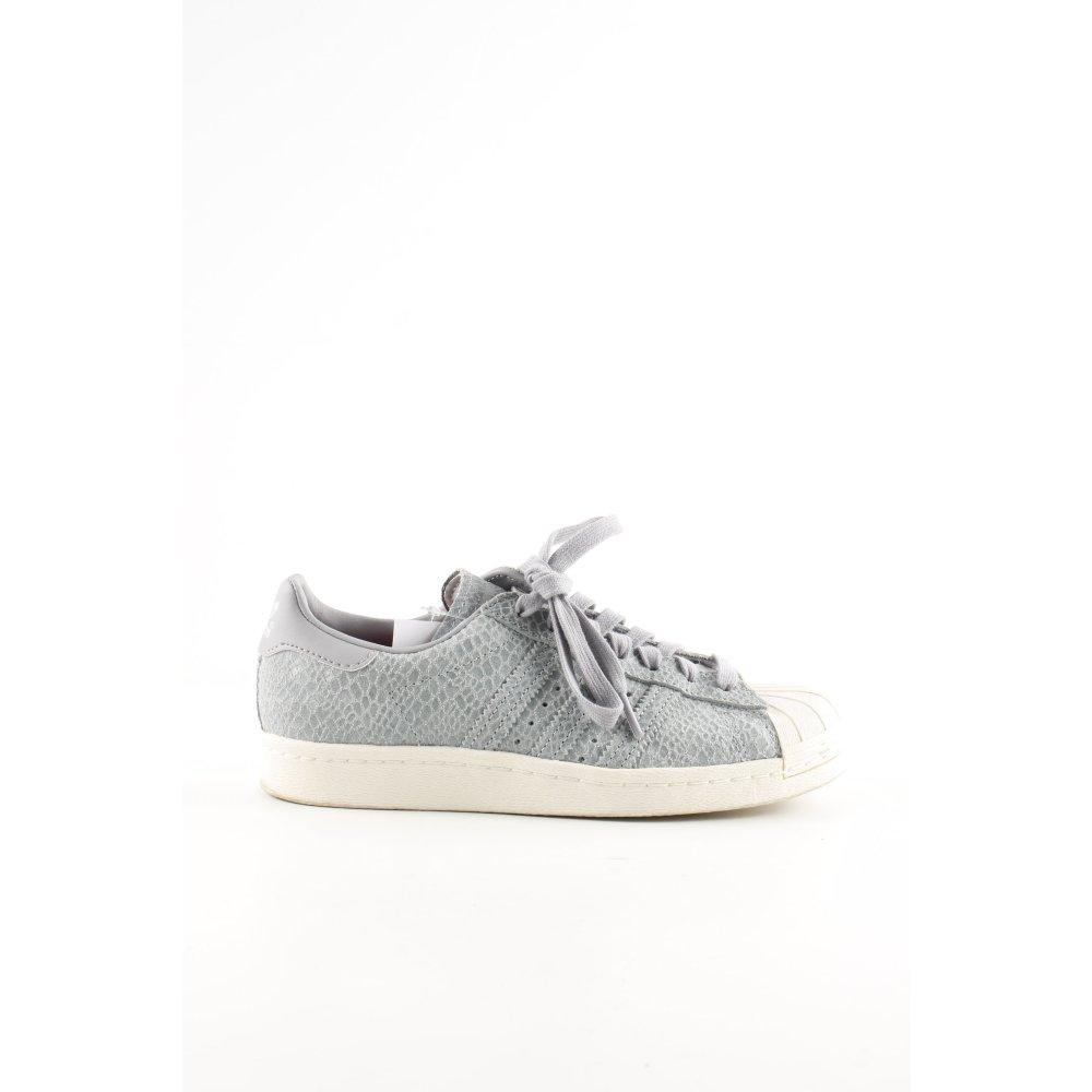 outlet on sale exclusive range look out for Détails sur ADIDAS Basket à lacet gris clair motif animal style décontracté  Dames T 36