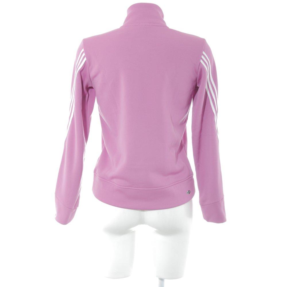 Détails sur ADIDAS Veste softshell motif rayé style athlétique Dames T 38 rose