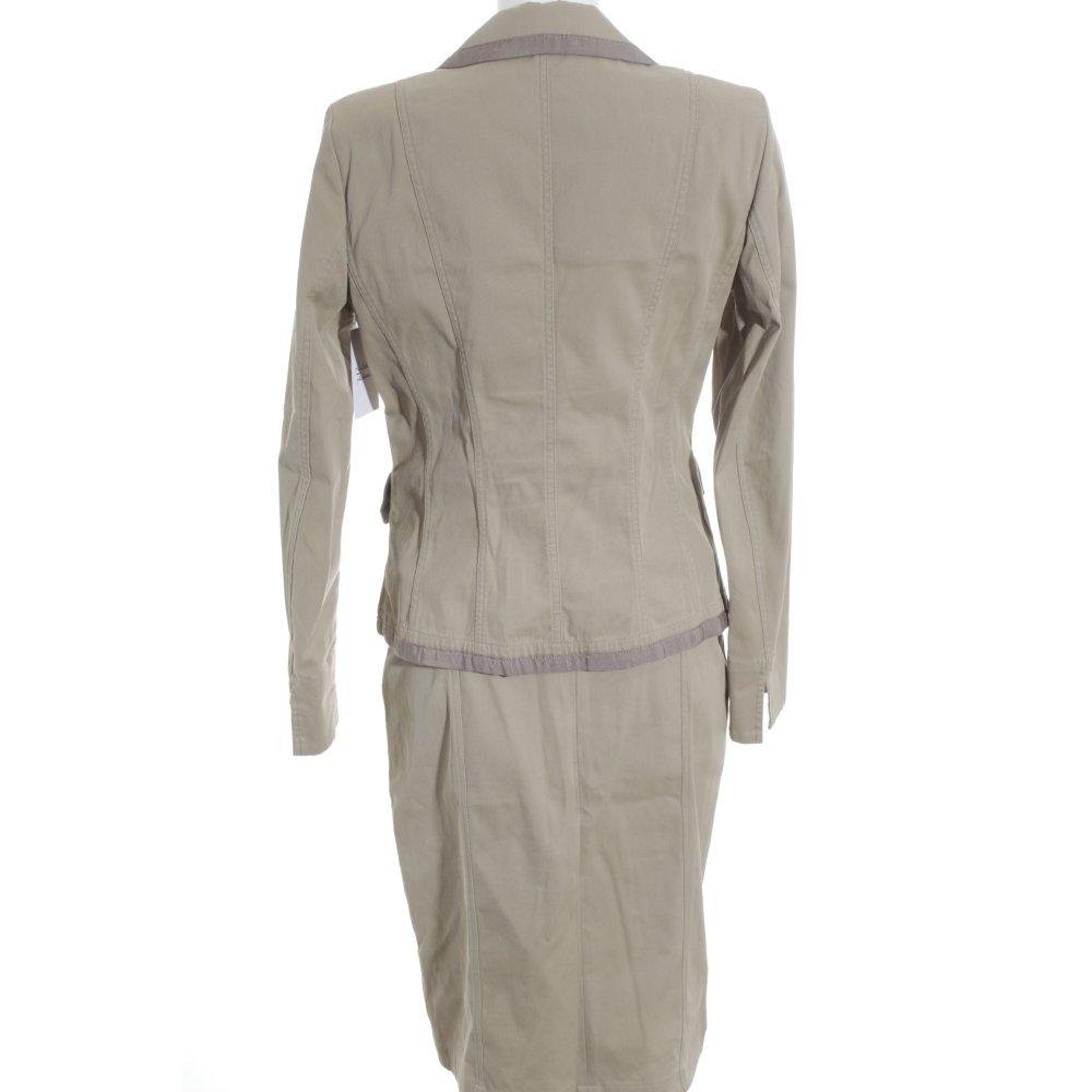 airfield kost m beige elegant damen gr de 38 anzug suit. Black Bedroom Furniture Sets. Home Design Ideas
