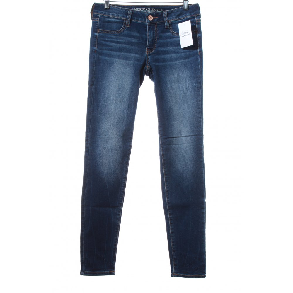 """AMERICAN EAGLE OUTFITTERS Straight Leg Jeans """"Super ..."""