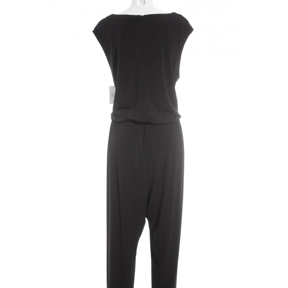 apart jumpsuit schwarz elegant damen gr de 52 hose trousers ebay. Black Bedroom Furniture Sets. Home Design Ideas