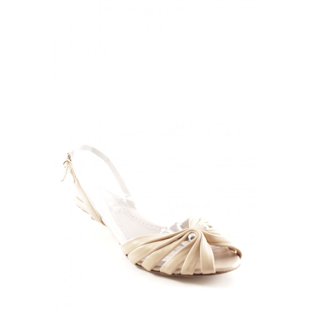 ASH Sandalo con cinturino multicolore elegante Donna Taglia IT 36 crema