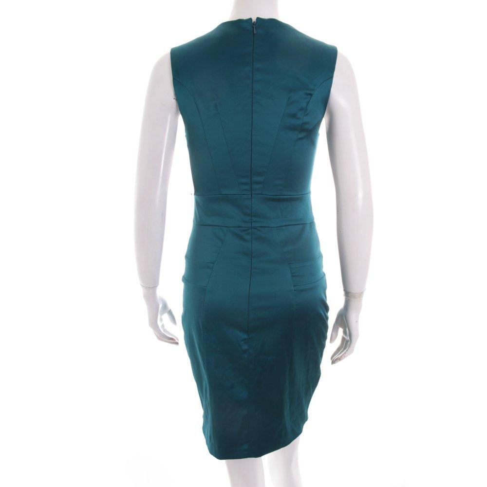 asos robe de cocktail bleu p trole style d contract dames t 38 ebay. Black Bedroom Furniture Sets. Home Design Ideas