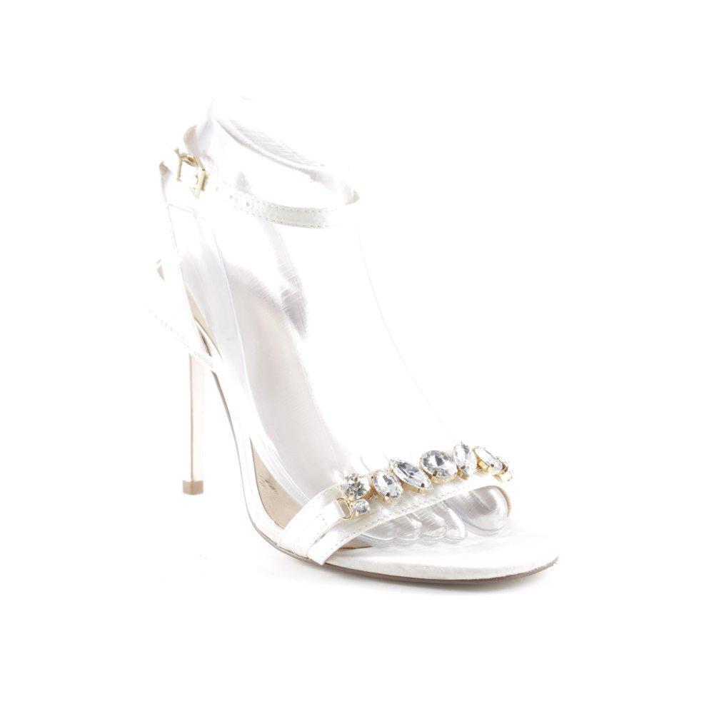 ASOS Sandalo con cinturino e tacco alto bianco stile casual Donna Taglia IT  36 - mainstreetblytheville.org fe0d90117ed