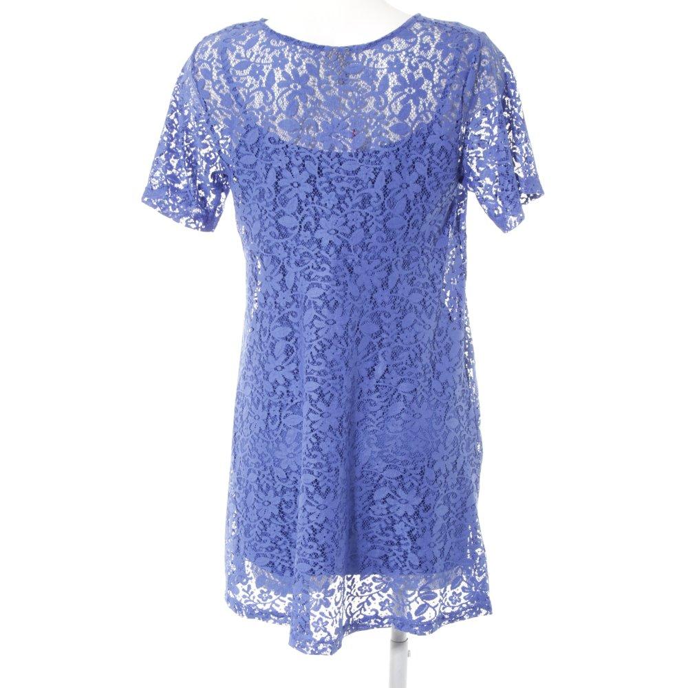 ASOS Spitzenkleid blau Party-Look Damen Gr. DE 36 Kleid ...