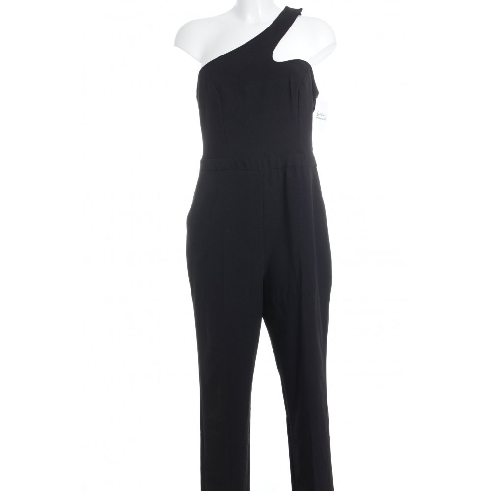 asos tall jumpsuit schwarz elegant damen gr de 40 hose trousers ebay. Black Bedroom Furniture Sets. Home Design Ideas