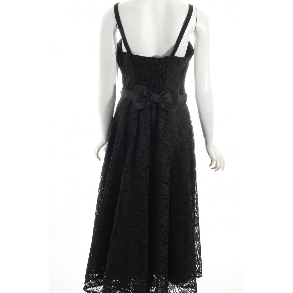 astor abendkleid schwarz elegant damen gr de 42 kleid dress evening dress ebay. Black Bedroom Furniture Sets. Home Design Ideas