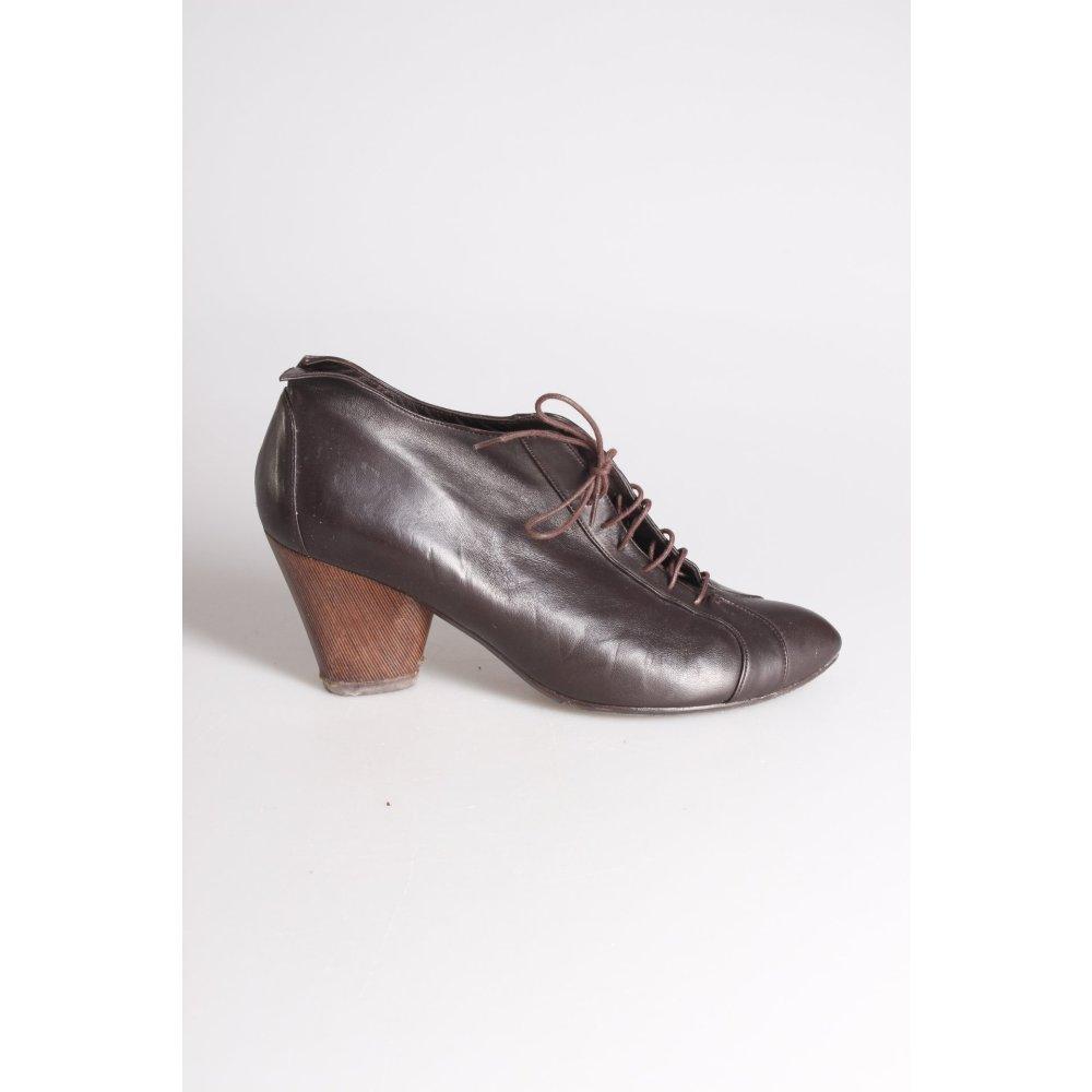 audley ankle boots schwarzbraun damen gr de 38 5. Black Bedroom Furniture Sets. Home Design Ideas