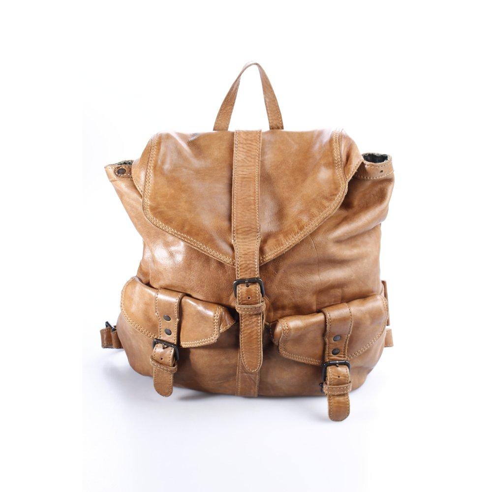 aunts uncles rucksack hellbraun street fashion look damen tasche bag backpack ebay. Black Bedroom Furniture Sets. Home Design Ideas