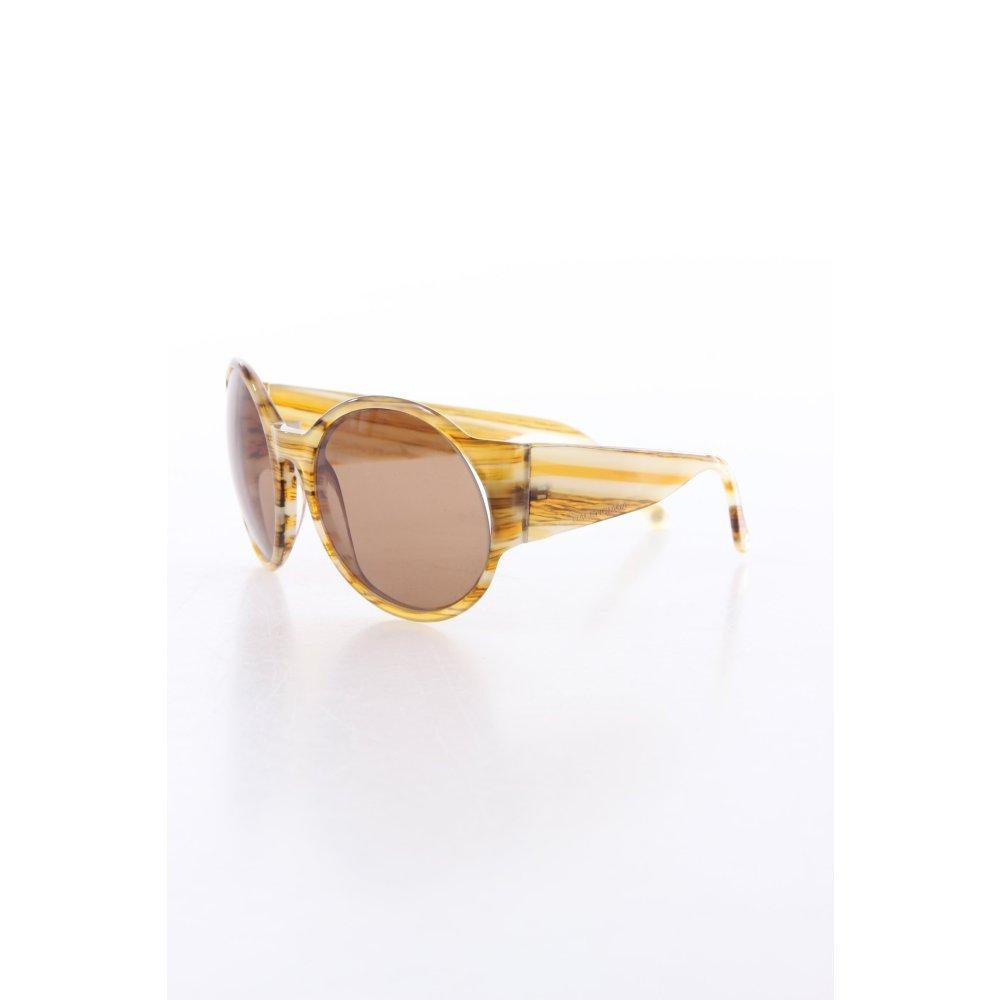 balenciaga sonnenbrille mit runden gl sern damen creme sunglasses. Black Bedroom Furniture Sets. Home Design Ideas