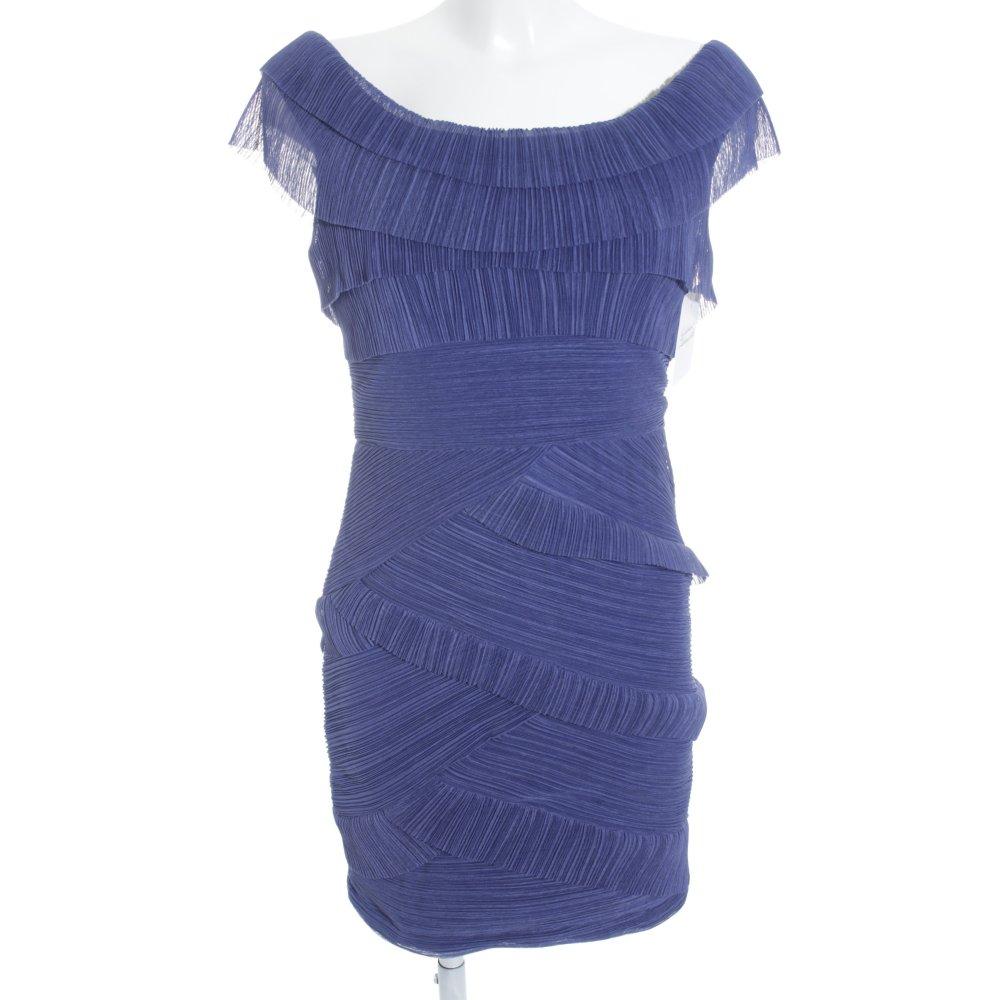 Excepcional Vestido De Cóctel Azul Bcbg Imagen - Vestido de Novia ...