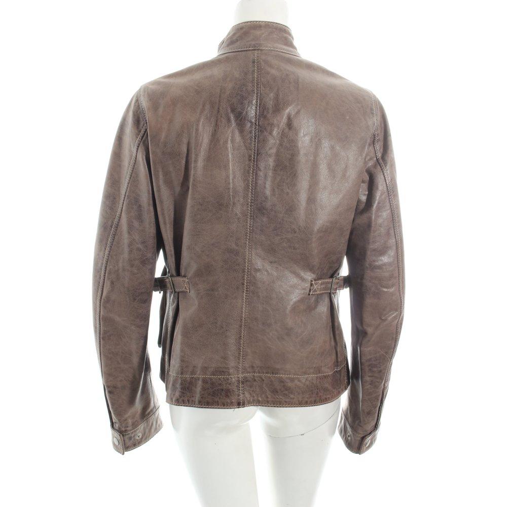 belstaff lederjacke hellbraun casual look damen gr de 40 jacke jacket leder ebay. Black Bedroom Furniture Sets. Home Design Ideas