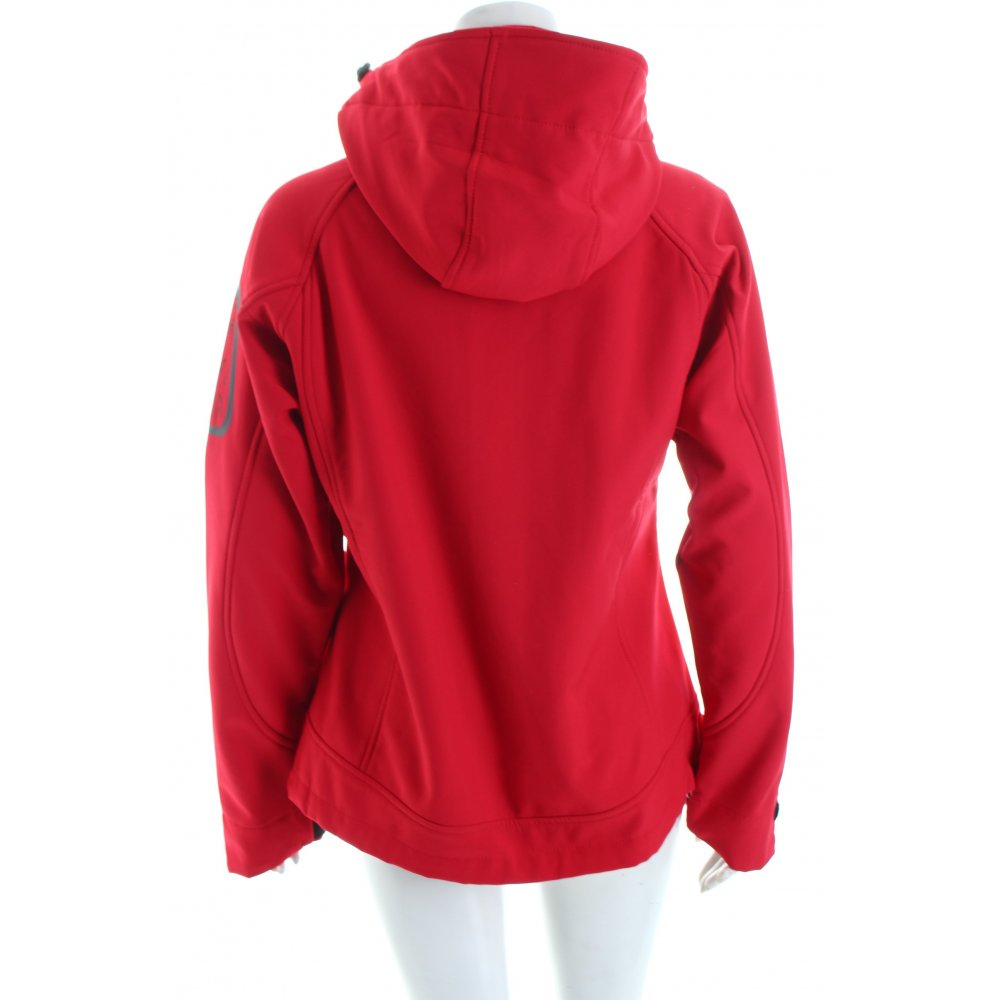 bench softshelljacke blumenmuster casual look damen gr de 38 rot jacke jacket ebay. Black Bedroom Furniture Sets. Home Design Ideas