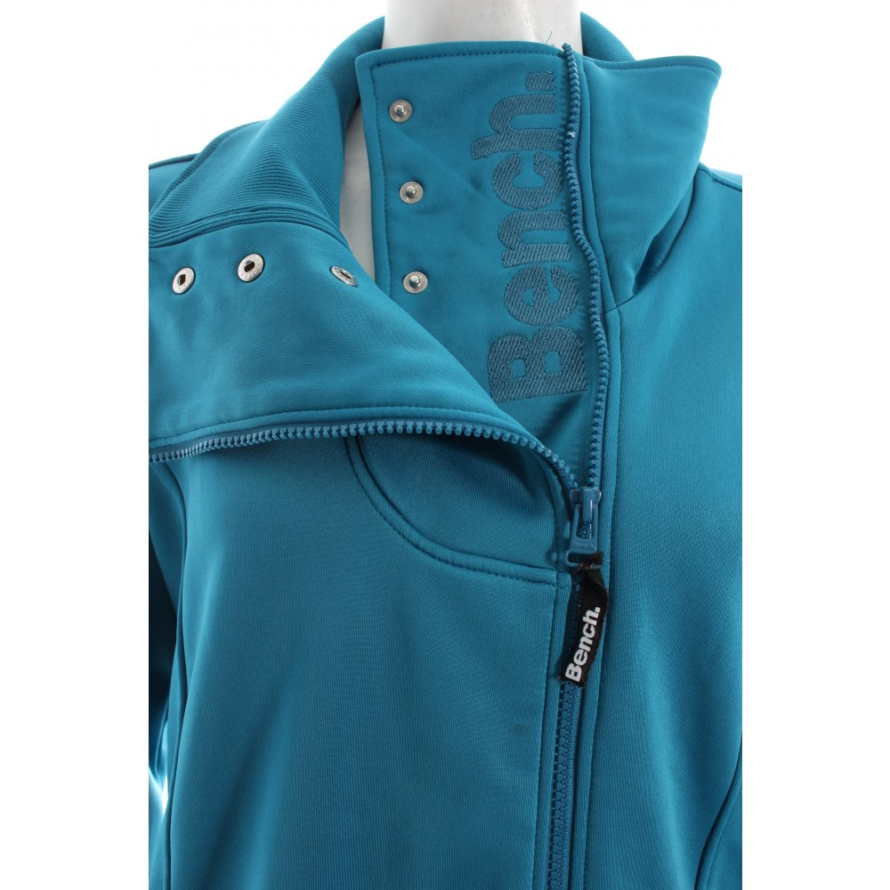bench bergangsjacke petrol blau sportlicher stil damen gr. Black Bedroom Furniture Sets. Home Design Ideas