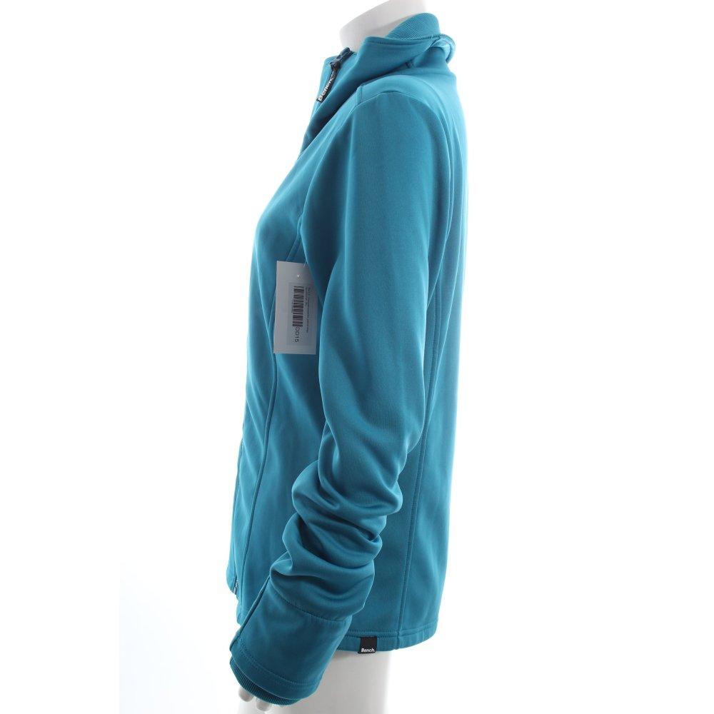 bench bergangsjacke petrol blau sportlicher stil damen gr de 40 jacke jacket ebay. Black Bedroom Furniture Sets. Home Design Ideas