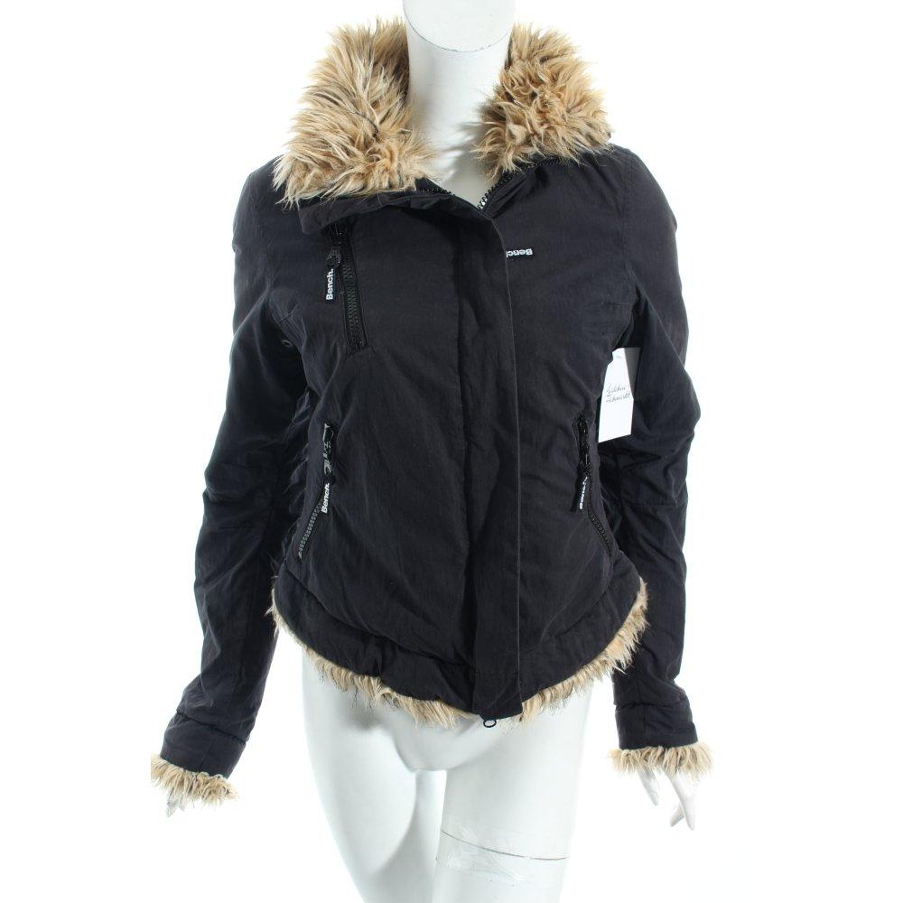 bench winterjacke dunkelgrau casual look damen gr de 36 jacke jacket ebay. Black Bedroom Furniture Sets. Home Design Ideas