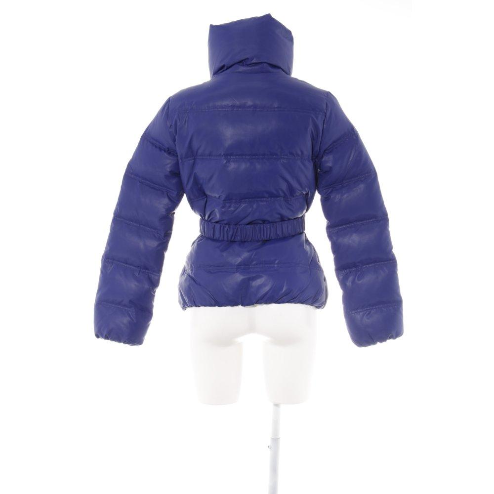 BENETTON Piumino blu stile classico Donna Taglia IT 46 Giacca  0a35e9b6b80