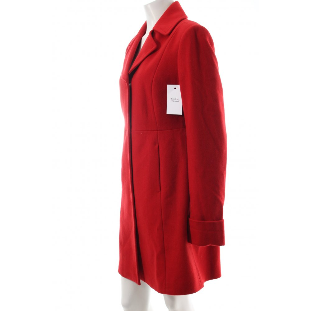 benetton wollmantel rot casual look damen gr de 44 mantel. Black Bedroom Furniture Sets. Home Design Ideas