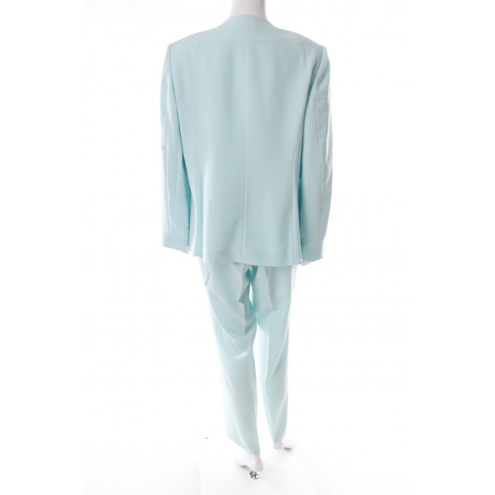 Betty barclay trouser suit turquoise classic style women s for Betty barclay
