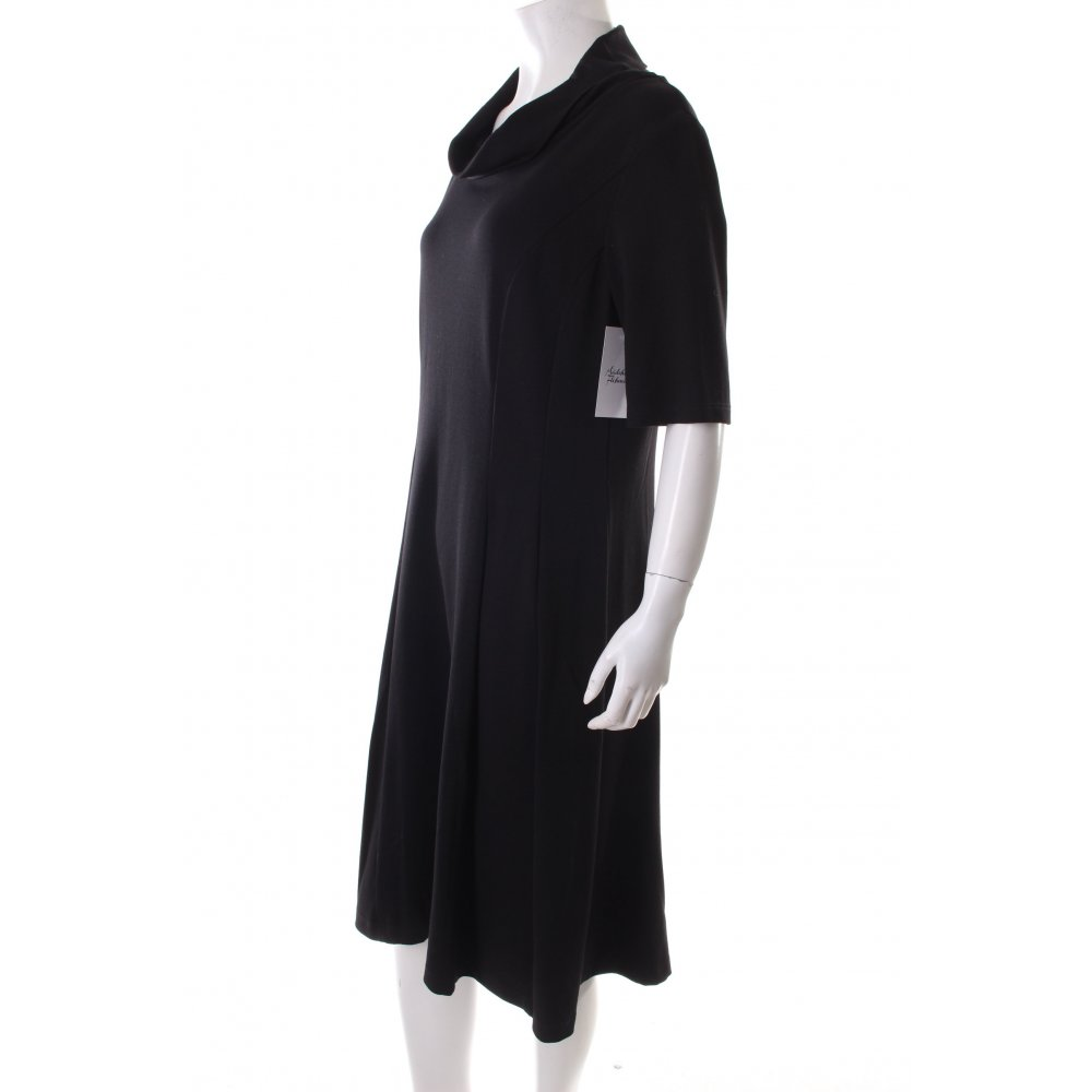 betty barclay shortsleeve dress black simple style women s size uk 14 ebay. Black Bedroom Furniture Sets. Home Design Ideas
