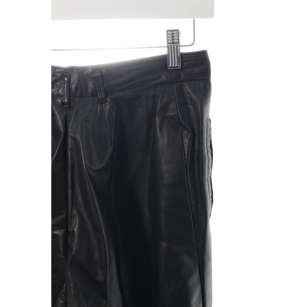 betty barclay lederhose schwarz damen gr de 40 hose trousers leder ebay. Black Bedroom Furniture Sets. Home Design Ideas