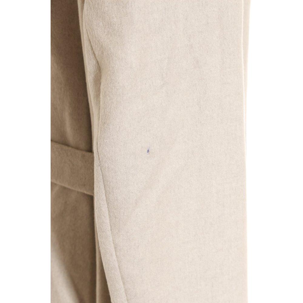 betty barclay wollmantel hellgrau kuschel optik damen gr de 38 mantel coat ebay. Black Bedroom Furniture Sets. Home Design Ideas
