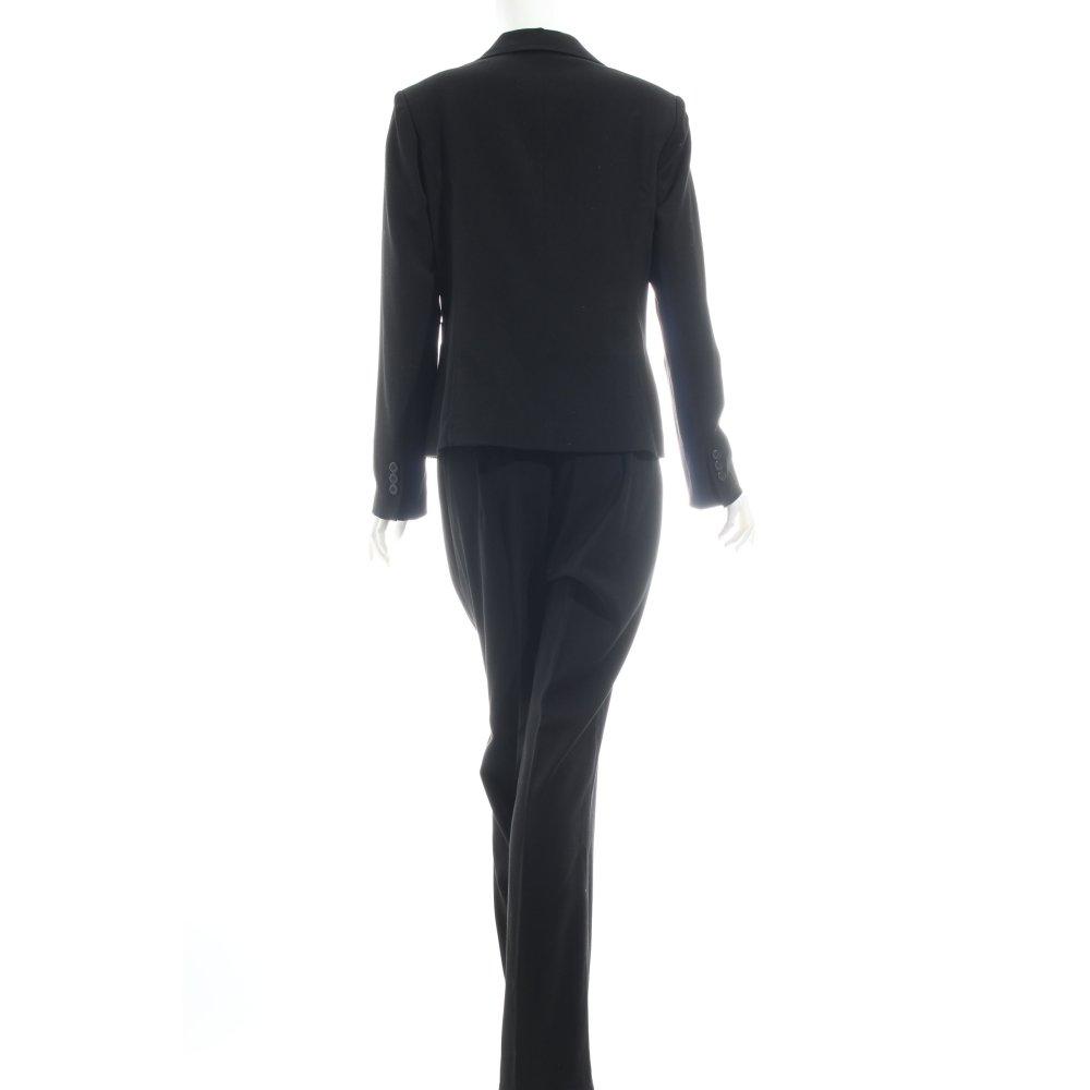 biaggini hosenanzug schwarz business look damen gr de 40 anzug suit ebay. Black Bedroom Furniture Sets. Home Design Ideas