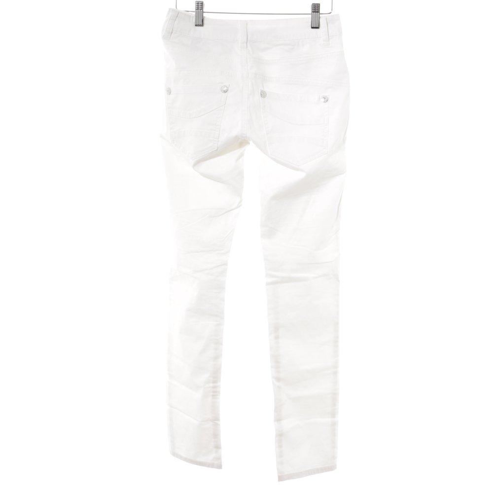 521331cfbce1b8 BLUE MONKEY Skinny Jeans weiß Casual-Look Damen Gr. DE 34 weiß | eBay
