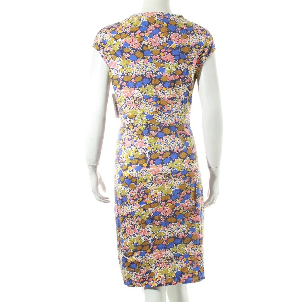 boden dress flower pattern classic style women s size uk 16 blue ebay. Black Bedroom Furniture Sets. Home Design Ideas