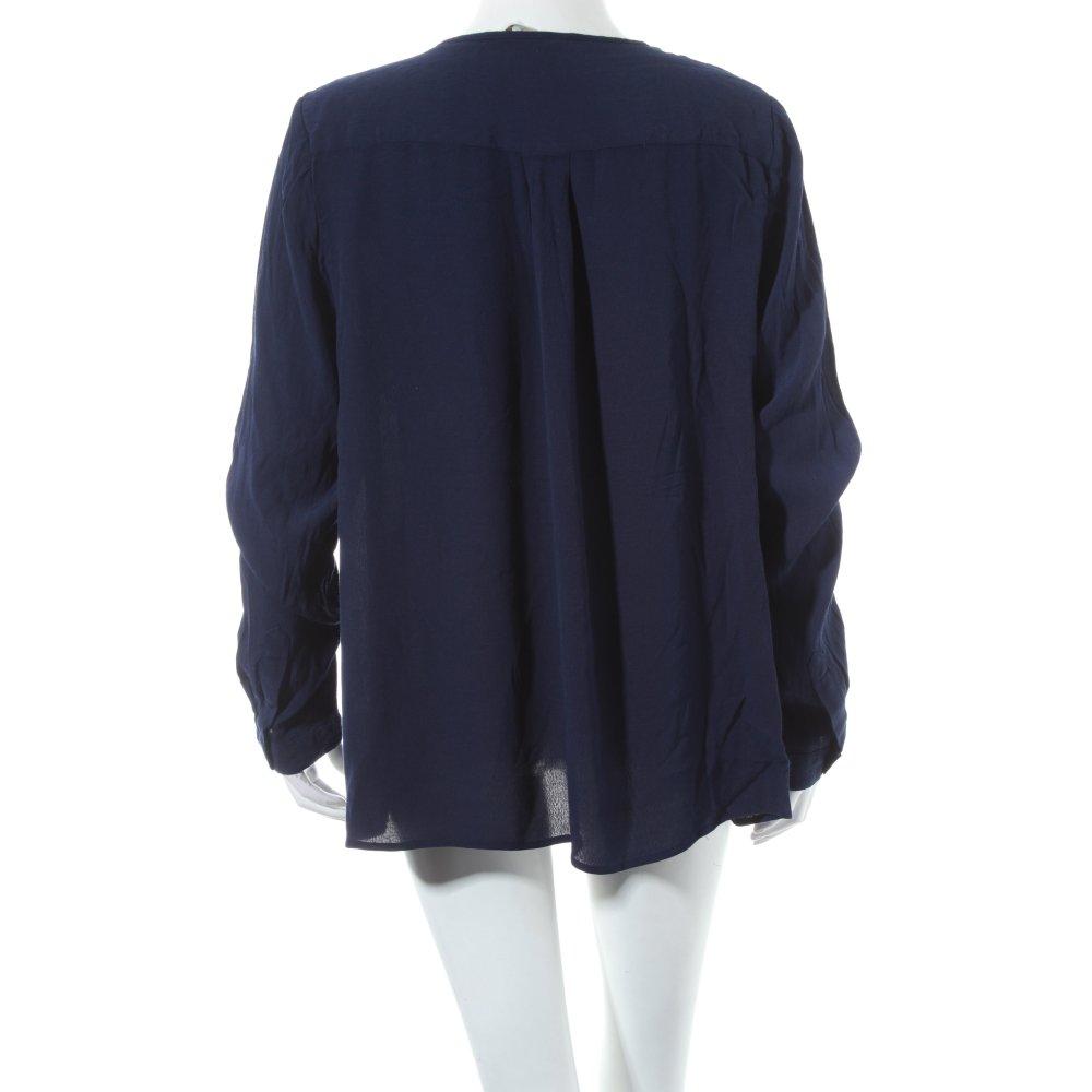 boden long sleeve blouse dark blue casual look women s size uk 18 ebay. Black Bedroom Furniture Sets. Home Design Ideas