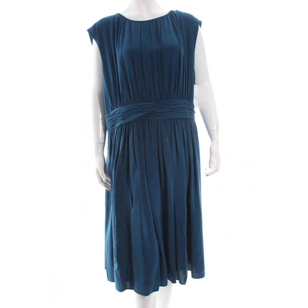 Boden midikleid petrol romantik look damen gr de 46 kleid for Mode boden versand