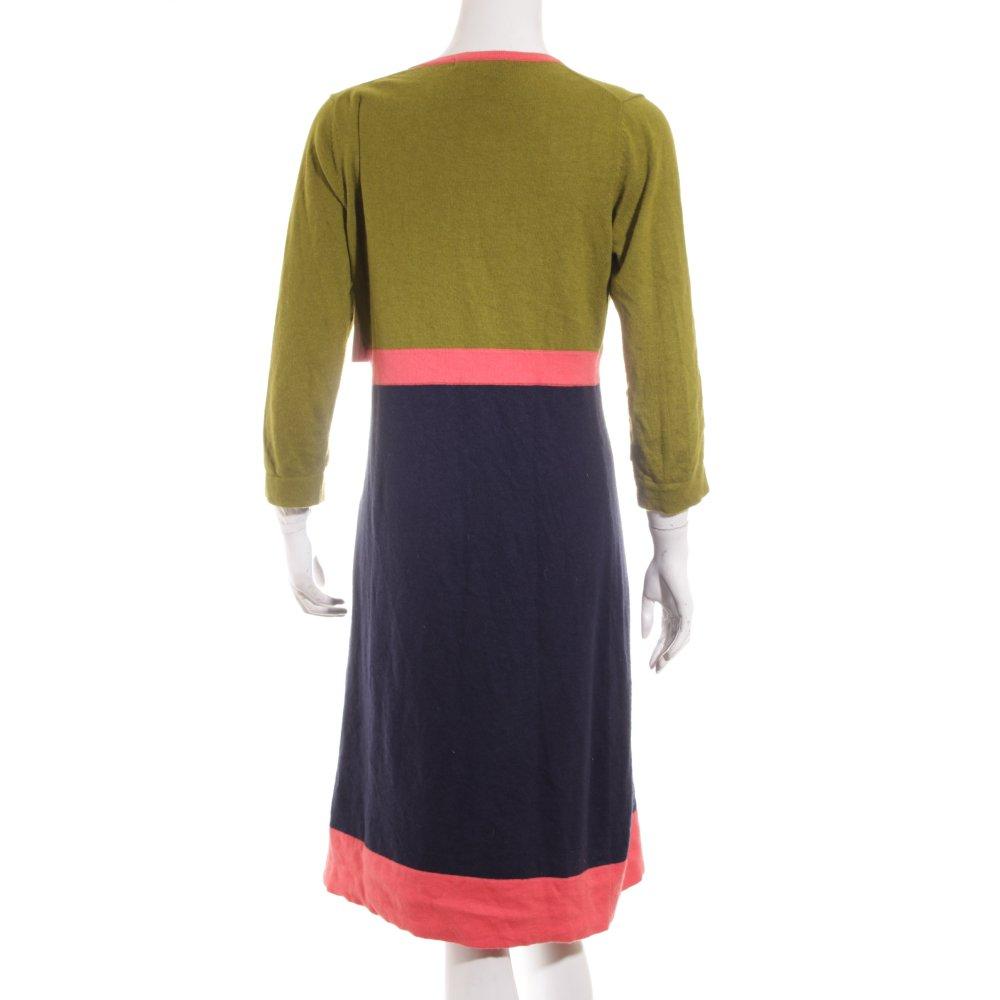 Boden strickkleid mehrfarbig 70ies stil damen gr de 40 for Boden versand mode
