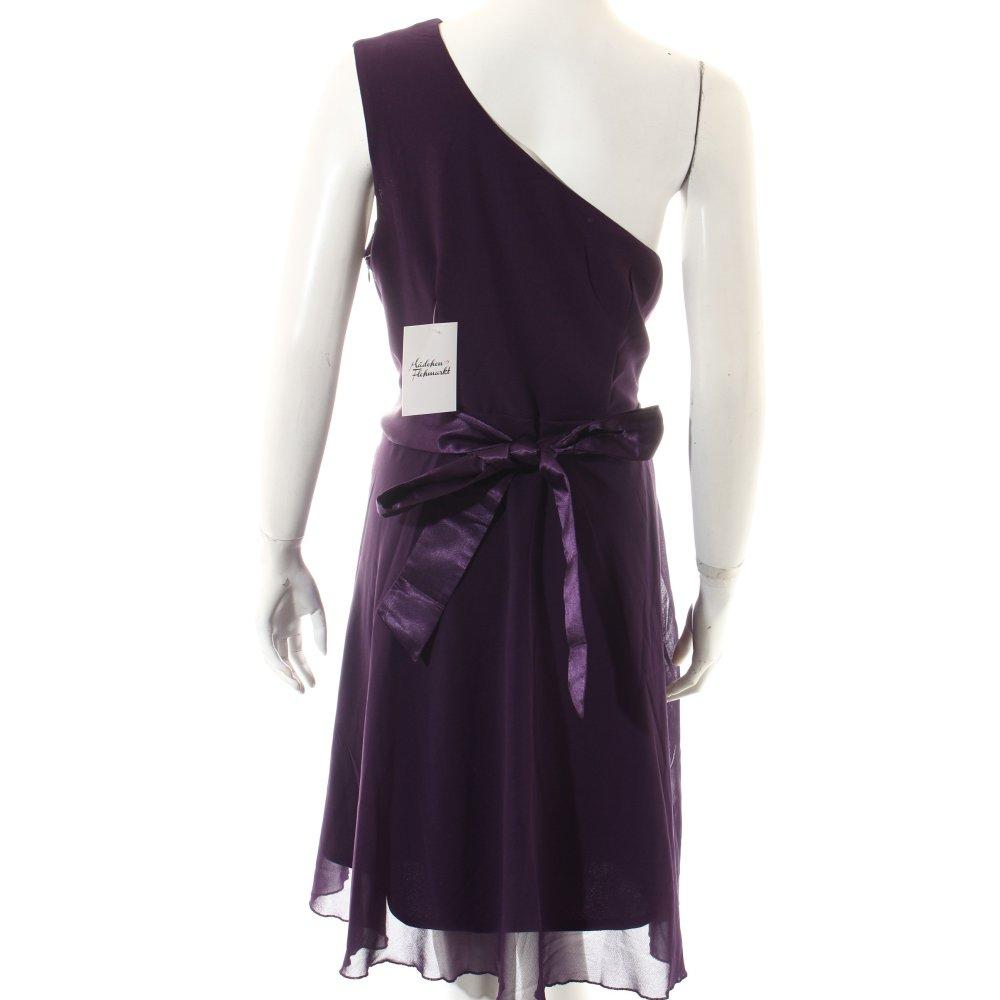 bodyflirt one shoulder kleid lila elegant damen gr de 44 dress ebay. Black Bedroom Furniture Sets. Home Design Ideas