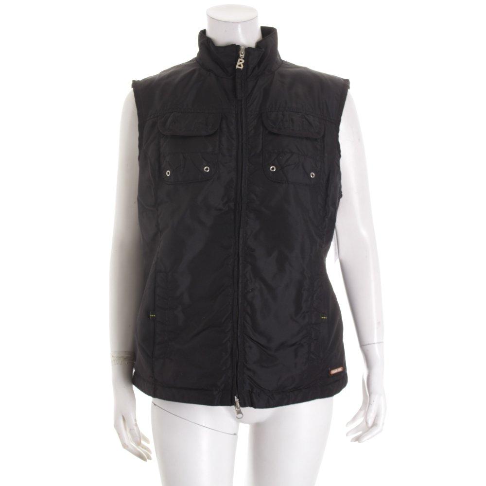bogner jeans weste schwarz casual look damen gr de 40 vest ebay. Black Bedroom Furniture Sets. Home Design Ideas