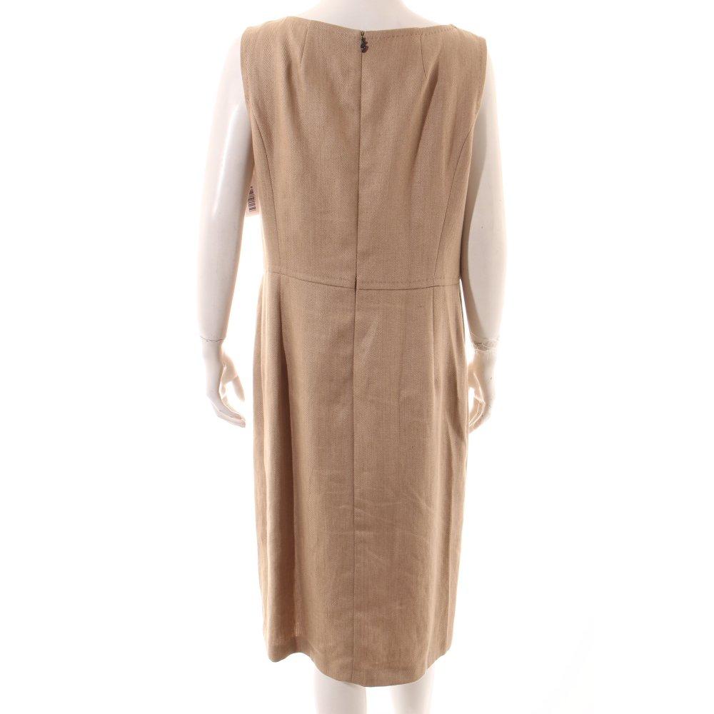 bogner kleid beige meliert casual look damen gr de 42 dress ebay. Black Bedroom Furniture Sets. Home Design Ideas