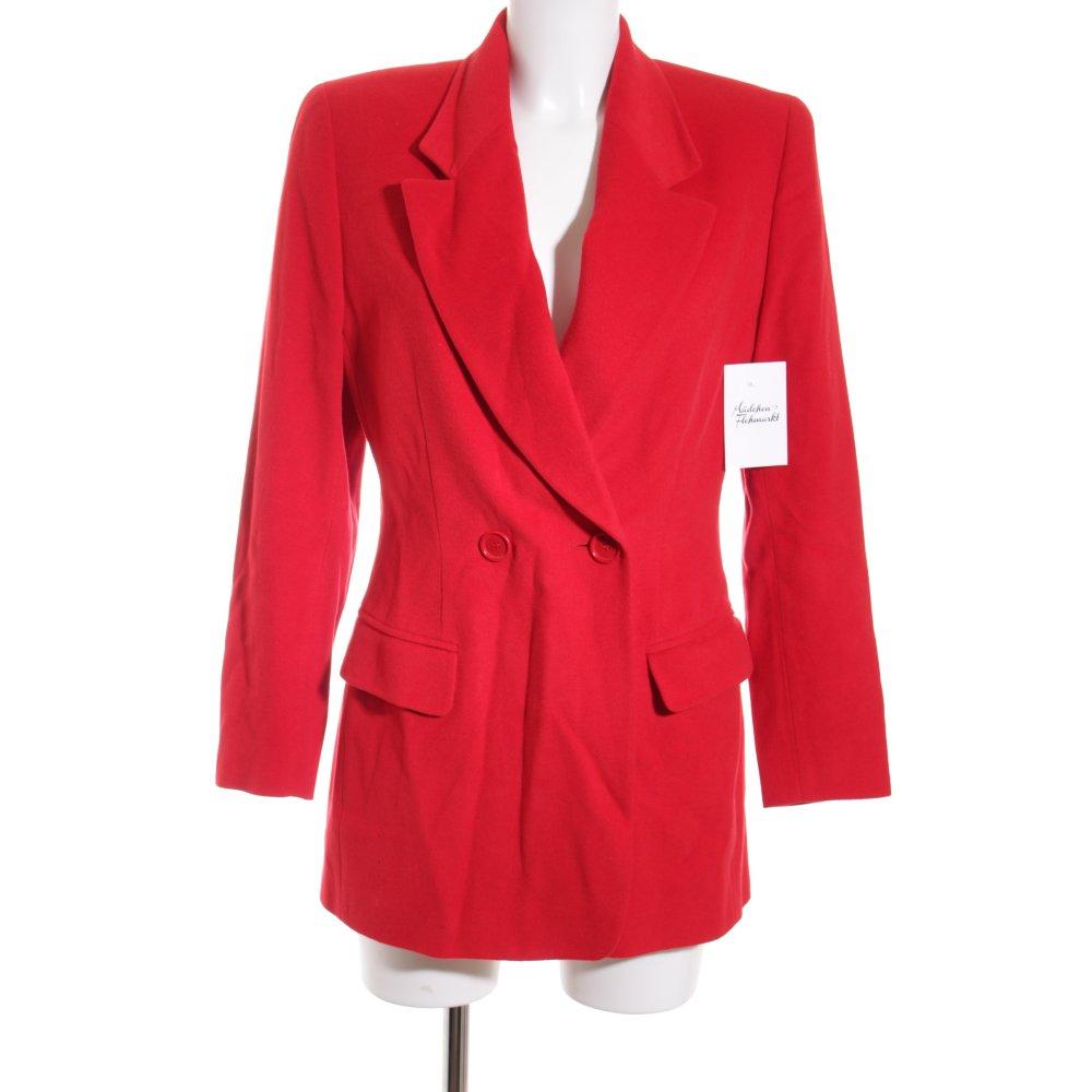 bogner long blazer rot klassischer stil damen gr de 36 long blazer ebay. Black Bedroom Furniture Sets. Home Design Ideas