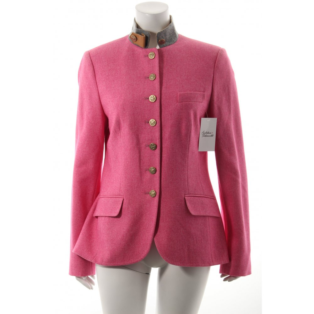 Bogner trachtenjacke rosa grau klassischer stil damen gr for Klassischer stil