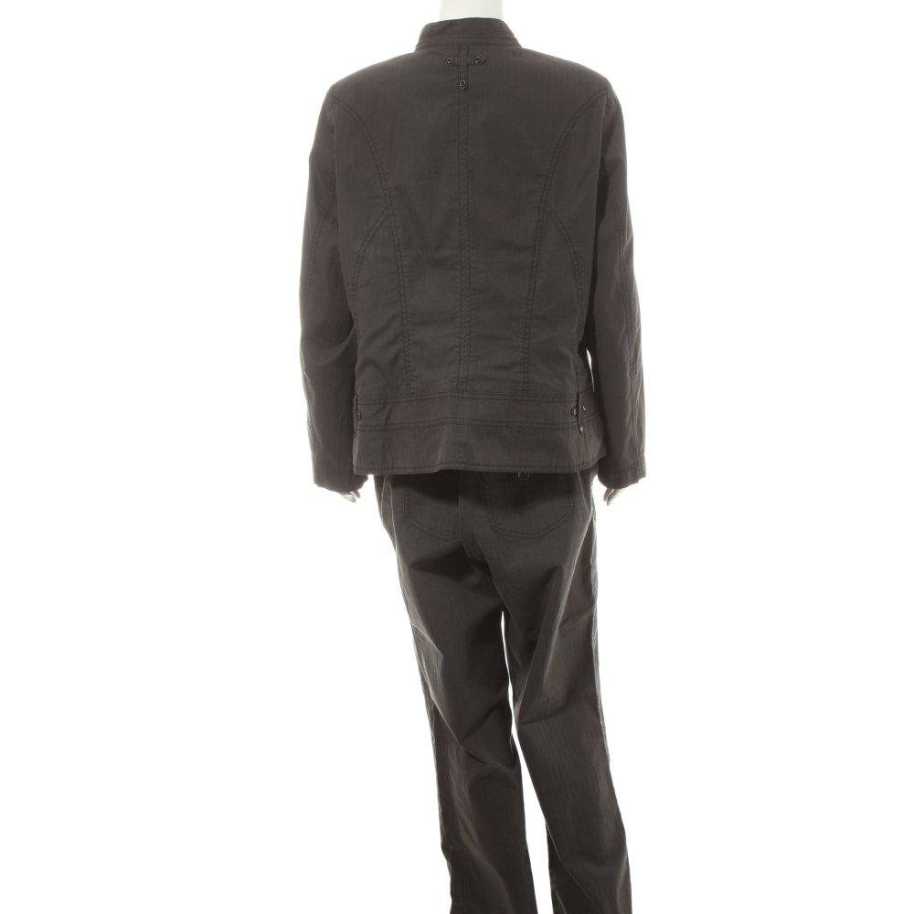 bonita hosenanzug anthrazit business look damen gr de 48 anzug suit ebay. Black Bedroom Furniture Sets. Home Design Ideas